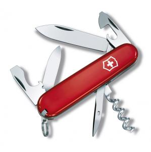knife VICTORINOX Tourist red