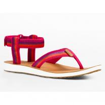 Sandals, light footwear sandals TEVA W Original Universal Ombre raspberry