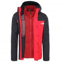 Winter Jackets THE NORTH FACE M Quest Triclimate red
