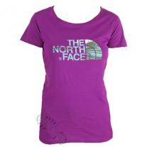 tričko THE NORTH FACE Buoux Tee magenta