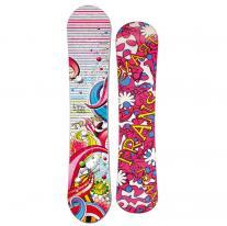 21750bfe1 Snowboardy snowboard TRANS LTD Girl white