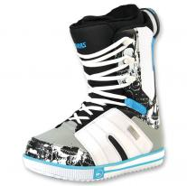 Snowboardová obuv obuv TRANS Profile Men white/black