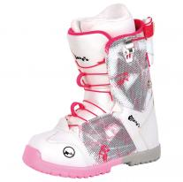 Snowboard boots shoes TRANS Rider Girl white/pink