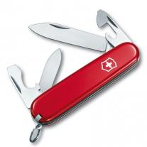 Knife knife VICTORINOX Recruit red