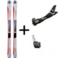 Skiing and Freeride skis VOLKL VTA 78 + Touring Skin + Tour F10 L