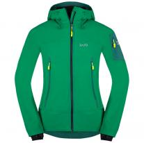 c4878a771245 Softšelové bundy bunda ZAJO Air LT Hoody Jkt Golf Green