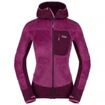 Fleece Jackets ZAJO Andorra W Jkt Dark Purple