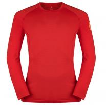ZAJO Bjorn Merino T-Shirt LS Racing Red