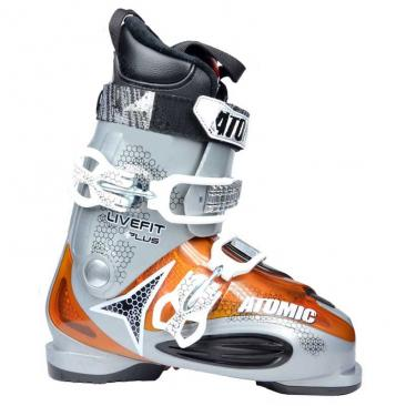 ski boots ATOMIC LF Plus grey metallic Click to view the picture detail.