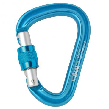carabiner BEAL Be Safe Screw blue Click to view the picture detail.
