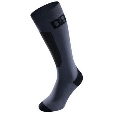 socks BOOT-DOC Smoke PFI 50 grey/black Click to view the picture detail.