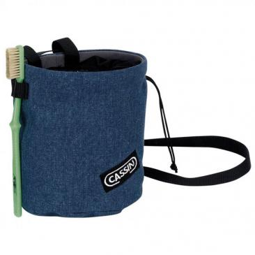 chalk bag CASSIN Polimago Denim Click to view the picture detail.