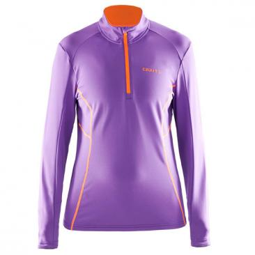 CRAFT Facile Stretch Pullover WMN Lilac Click to view the picture detail.