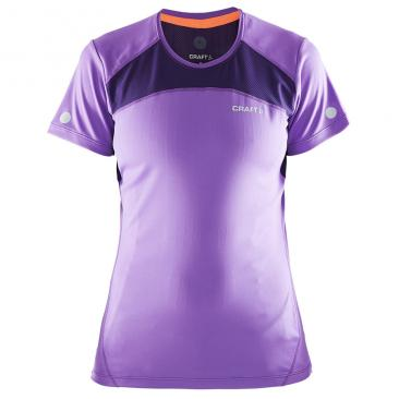 CRAFT Devotion SS Shirt WMN lilac Click to view the picture detail.