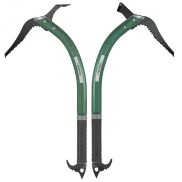 CLIMBING TECHNOLOGY Fly Hook Adze+Hammer Green Click to view the picture detail.