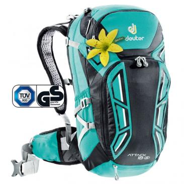 backpack DEUTER Attack 18 SL mint-black Click to view the picture detail.