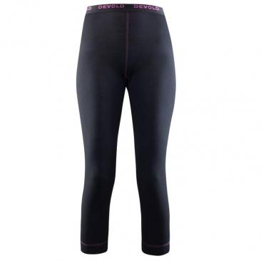 DEVOLD Breeze Woman 3/4 Long Johns Black Click to view the picture detail.