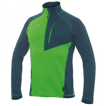 DIRECTALPINE Tonale 3.0 Pullover green/petrol Click to view the picture detail.
