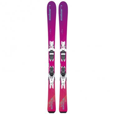 ski ELAN Lil Spice + Elan EL 7.5 AC Shift Click to view the picture detail.