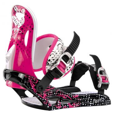 binding ELFGEN Freestyle Girl pink/black Click to view the picture detail.