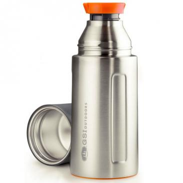 GSI OUTDOORS Glacier Stainless 0.5 L Vacuum Bottle stainless Click to view the picture detail.