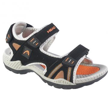 sandals HEAD HU-512-35-02 black/orange Click to view the picture detail.