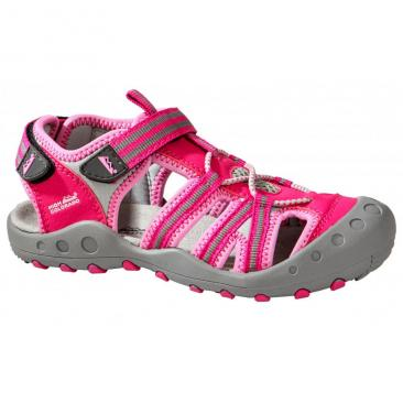 sandals HIGH COLORADO Lido Kids fuchsia/pink Click to view the picture detail.