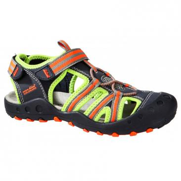 sandals HIGH COLORADO Lido Kids green/orange Click to view the picture detail.