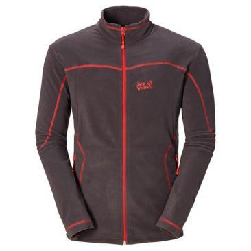 JACK WOLFSKIN Performance Jacket dark steel Click to view the picture detail.