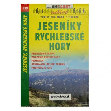 hiking map Jeseniky, Rychlebske hory - SHOCART Click to view the picture detail.