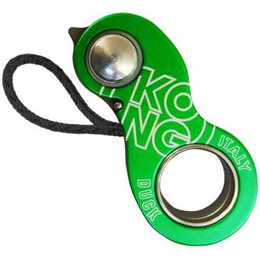emergency rope clamp KONG Duck green Click to view the picture detail.