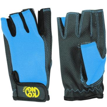 KONG Pop Gloves blue/black Click to view the picture detail.
