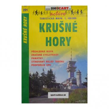 hiking map Krusne hory - SHOCART Click to view the picture detail.