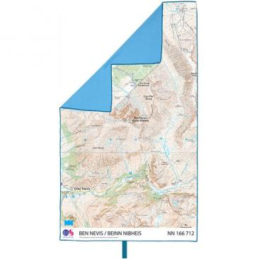 LIFEVENTURE Ben Nevis Map Trek Towel Click to view the picture detail.