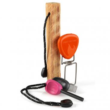 LIGHT MY FIRE Lighting Kit + Grandpa´s FireFork fuchsia Click to view the picture detail.
