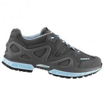 shoe LOWA Gorgon GTX Ws anthracite/ice blue Click to view the picture detail.