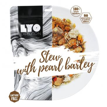 freezed-dried meal LYO Stew with Pearl Barley Big Pack Click to view the picture detail.