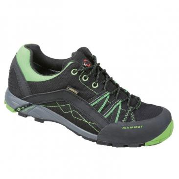 shoe MAMMUT Ceredo Low GTX W black-dark spring Click to view the picture detail.