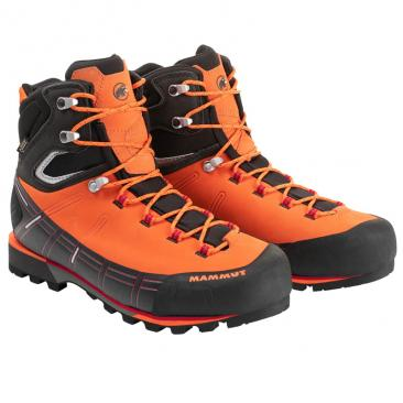 shoe MAMMUT Kento High GTX Men sunrise-black Click to view the picture detail.