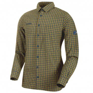 MAMMUT Lenni Longsleeve Shirt Men olive Click to view the picture detail.