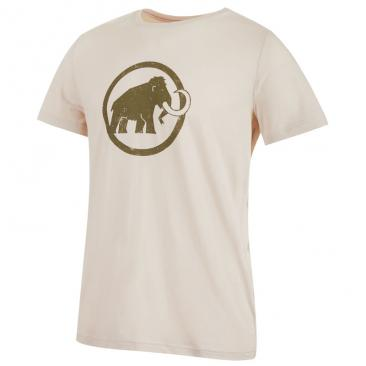 MAMMUT Logo T-Shirt Men linen Click to view the picture detail.