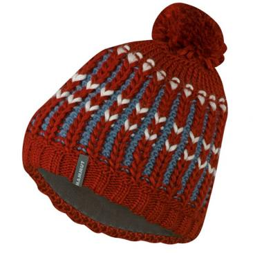 MAMMUT Luina Beanie maroon-chill Click to view the picture detail.