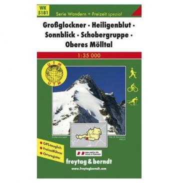 map Grossglockner, Heiligenblut, Sonnblick - Freytag&Berndt Click to view the picture detail.