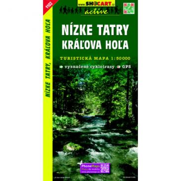 map Low Tatras, Kralova hola - SHOCart 1102 Click to view the picture detail.