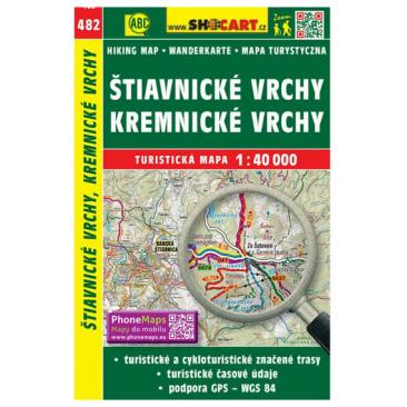 map SHOCart: Stiavnicke vrchy, Kremnicke vrchy Click to view the picture detail.