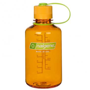 bottle NALGENE Narrow Mouth 0.5L clementine Click to view the picture detail.
