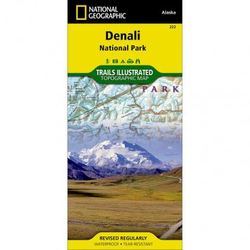 map NATIONAL GEOGRAPHIC - Denali National Park Click to view the picture detail.