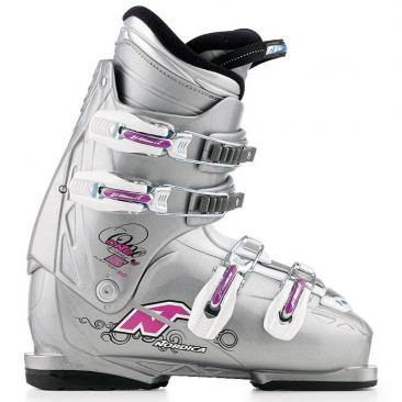 ski boot NORDICA One Easy 5 W silver/white Click to view the picture detail.