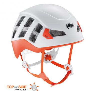 helmet PETZL Meteor red/orange Click to view the picture detail.