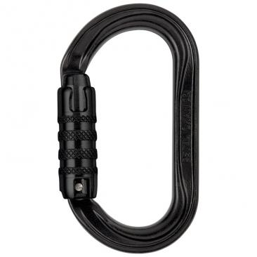 carabiner PETZL Oxan Triact-Lock black Click to view the picture detail.